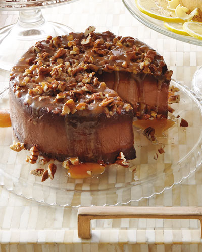 Turtle Silk Gluten-Free Cake, For 12 People