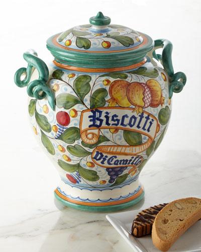 Melograno Gala Biscotti Jar