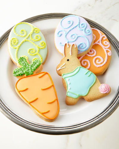 Easter Decorated Sugar Cookies