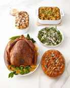 Whole Peppered Turkey Complete Meal