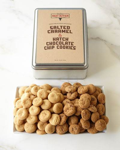 Red River Salted Caramel and Hatch Chocolate Chip Cookies