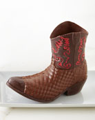 Red River Chocolate Cowboy Boot