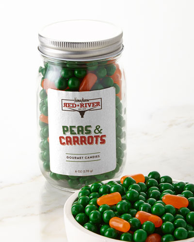 Peas and Carrots Candy
