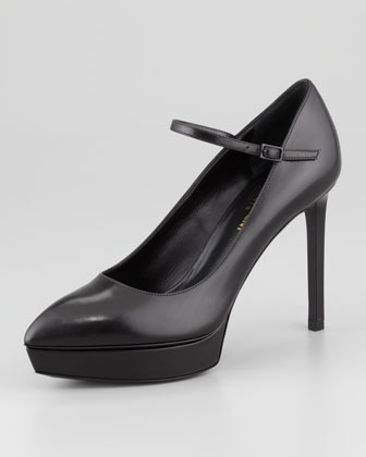 Janis Mary Jane Platform Pump