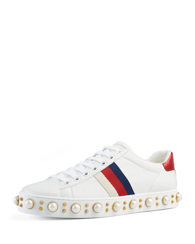 New Ace Sneaker, White