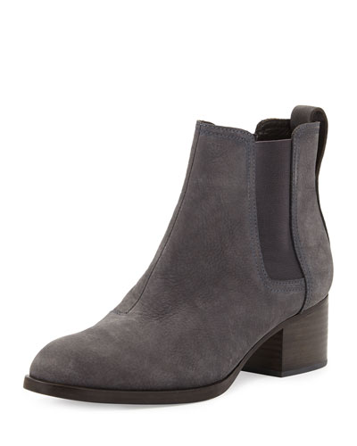 Walker Nubuck Chelsea Boot, Charcoal