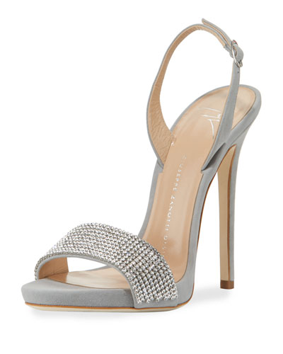 Coline Crystal Slingback Sandal