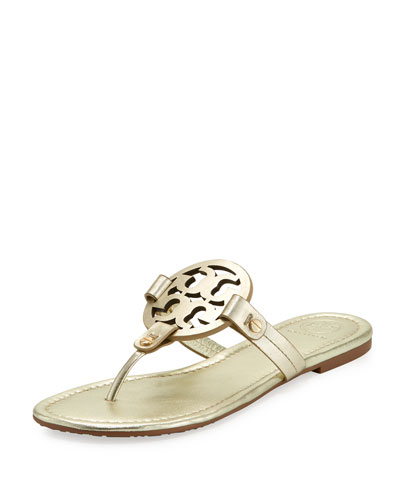 d8e46f783 Quick Look. Tory Burch · Miller Leather Logo Sandal