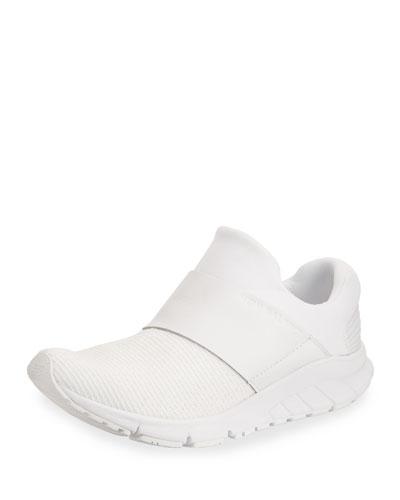 Vazee Rush Knit Slip-On Sneaker, White