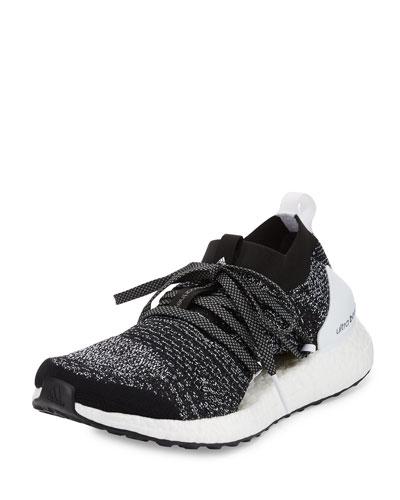 Ultra Boost X Knit Sneaker, Black/White
