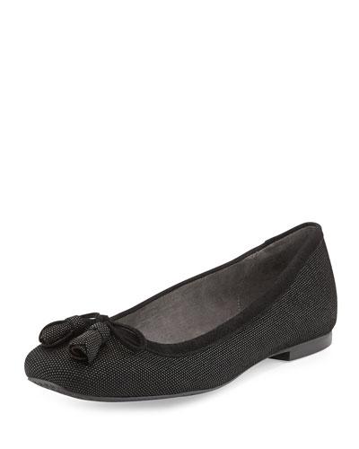 Tulipbow Patent Ballerina Flat, Ale Wash