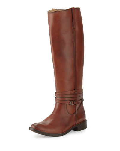 Shirley Riding Plate Boot, Redwood