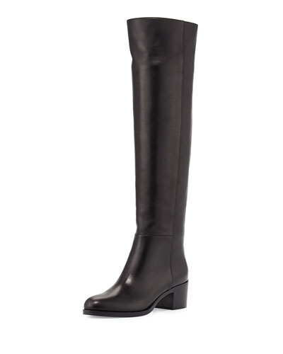 VIP Leather Over-The-Knee Boot