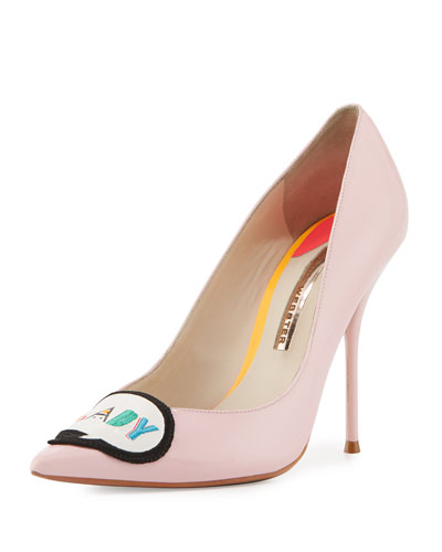 Boss Lady Patent Leather Pump