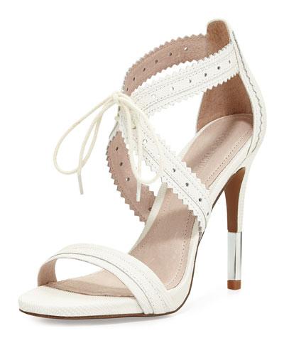 Shanna Crisscross Leather Sandal