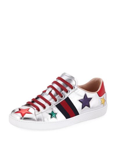 Ace Metallic Star Sneaker