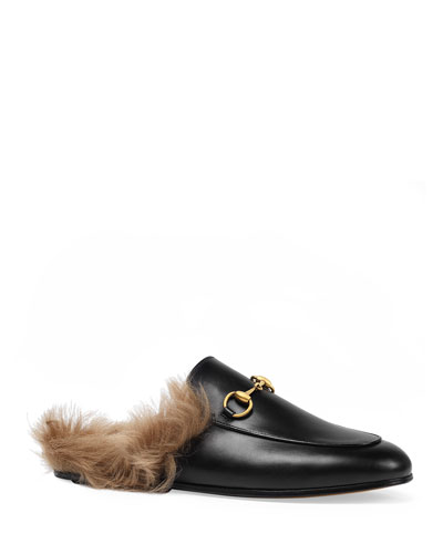 6341247faaf Quick Look. Gucci · Princetown Fur Lined Mule