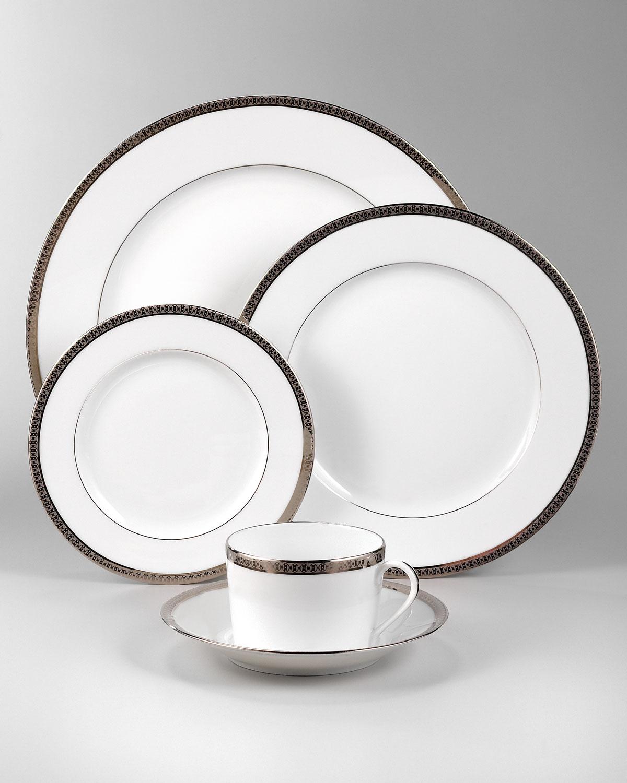 Symphony Platinum Dinner Plate