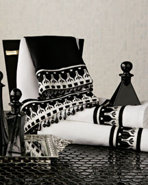Black & White Bath Accessories -   		Bath - 	Neiman Marcus :  bath towels designer neimanmarcus home accents