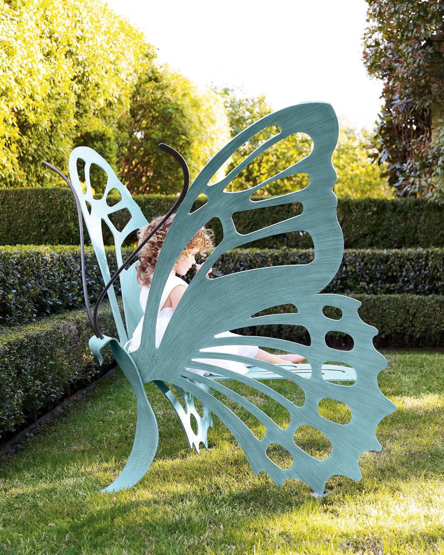 Medium Butterfly Bench