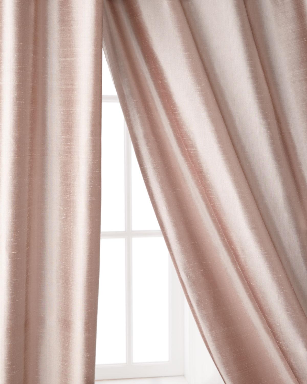 "Radiance Silk Curtain, 108""L"