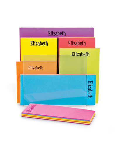 Personalized Rainbow Pad Set