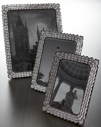 Crystal-Embellished Photo Frames