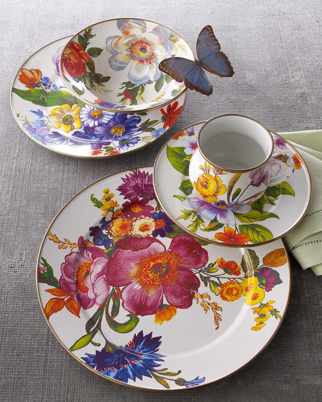 Flower Market Dinner Plate