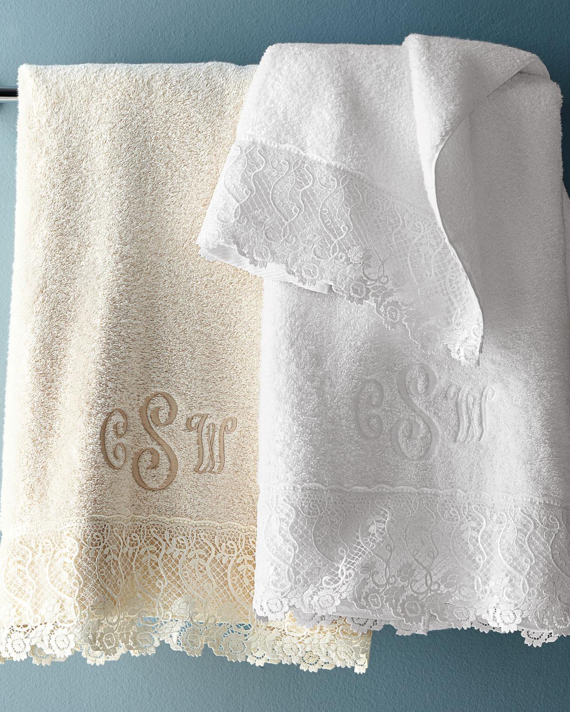 Callista Lace Guest Towel