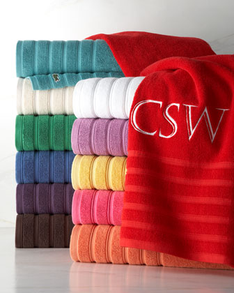 Solid-Color Towels