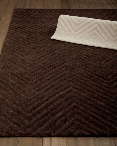 """Dimension Chevron"" Rug"
