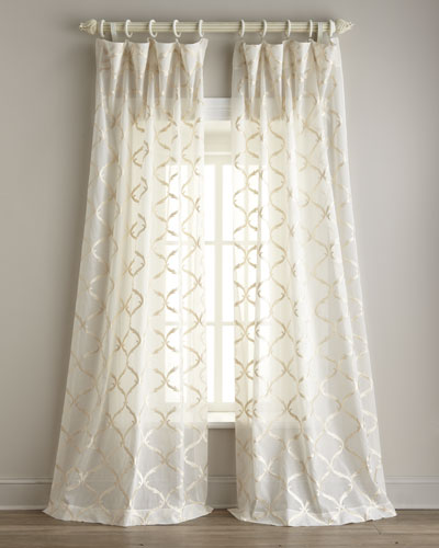 """Graceful"" Sheer Curtains"