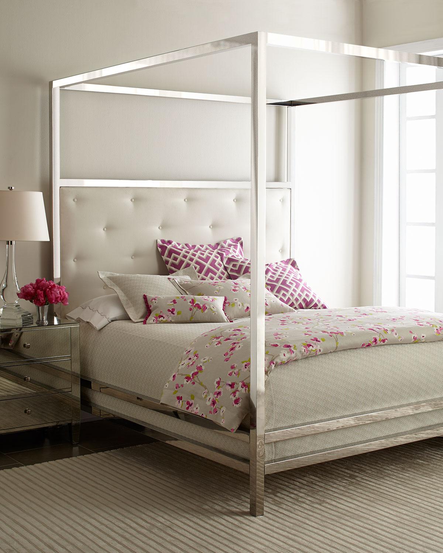 Bernhardt Gilded Pressley King Bed Neiman Marcus