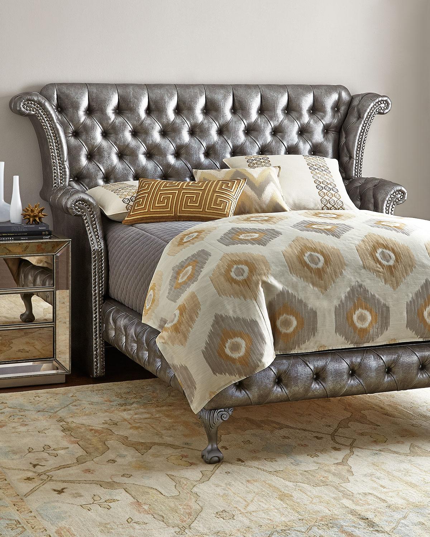 Carter Platinum Queen Bed
