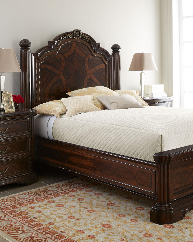 Hooker Furniture Savannah California King Sleigh Bed | Neiman Marcus