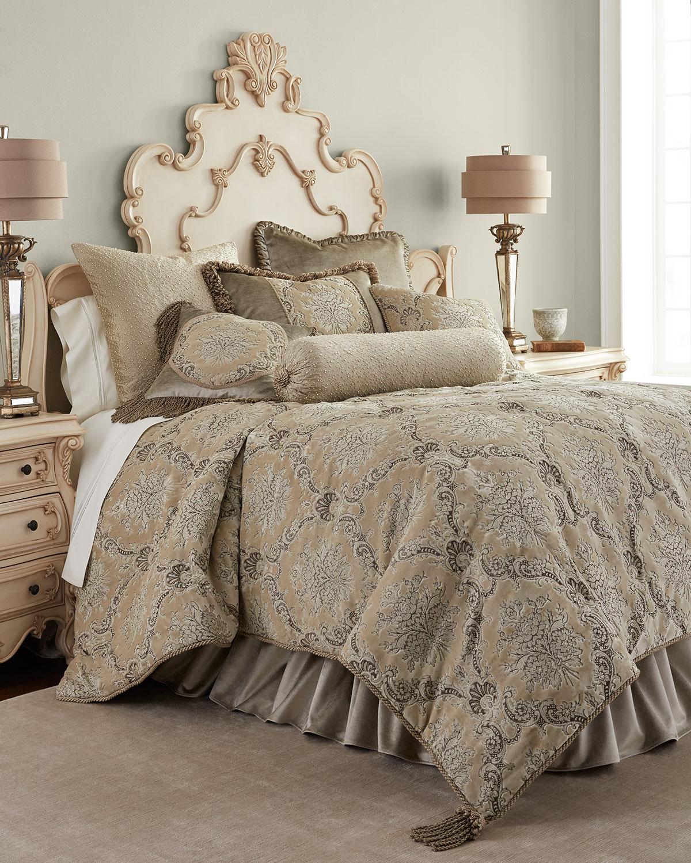 Queen Marquis Floral Comforter
