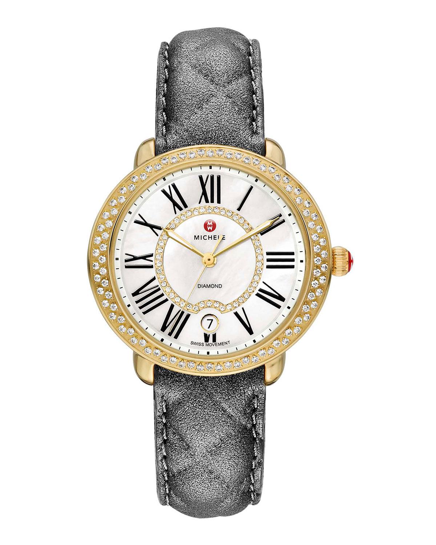 16mm Serein Diamond Watch Head, Gold