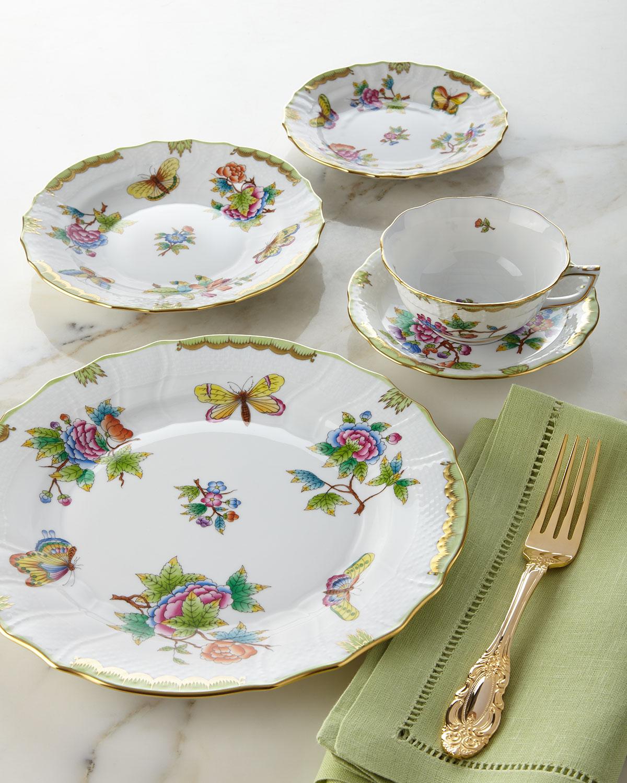 Queen Victoria Tea Saucer