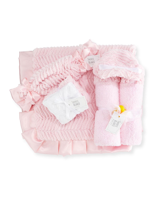 Ziggy Security Blanket, Pink