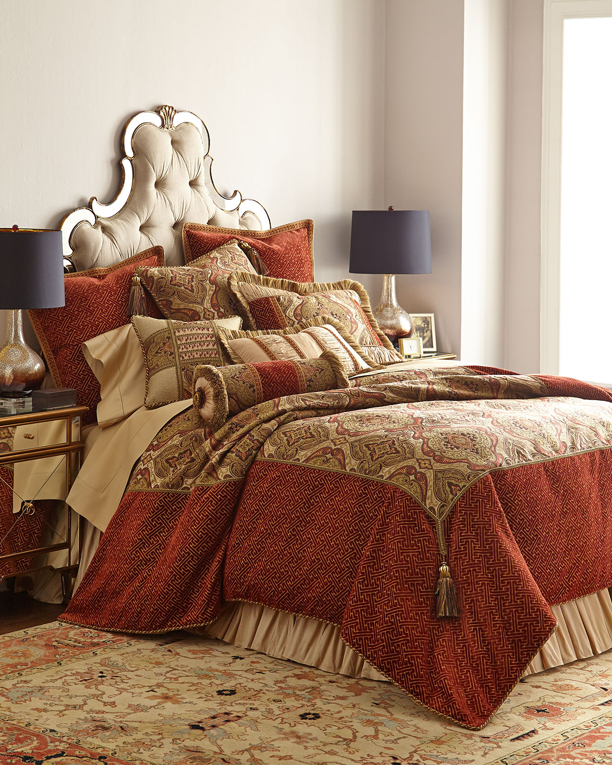 King Mediterrane Duvet Cover