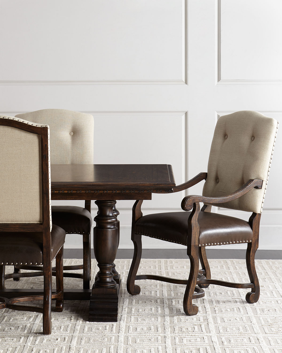 Exceptionnel Reverie Side Chairs, Pair