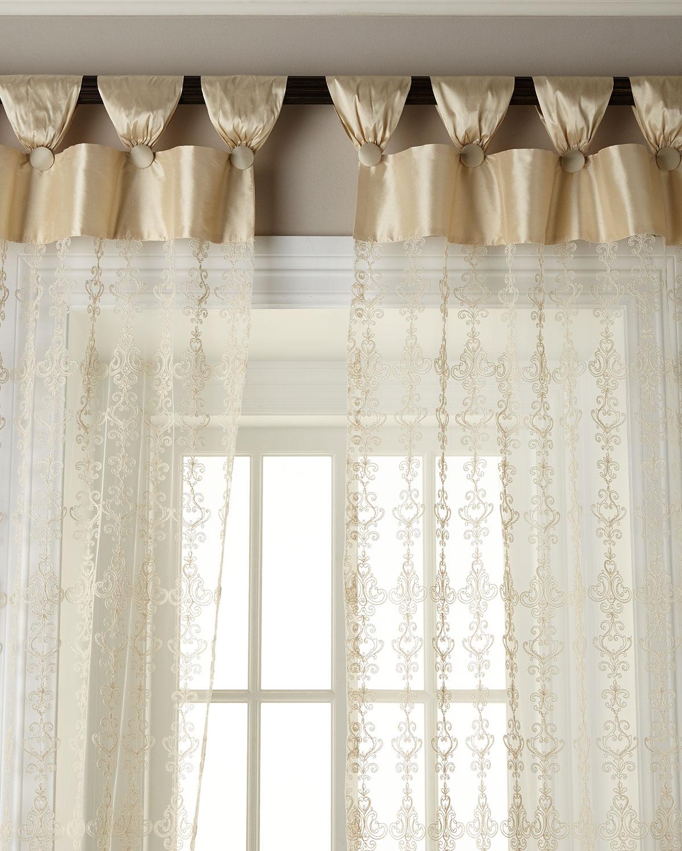 "54""W x 108""L Elizabeth Lace Curtain"