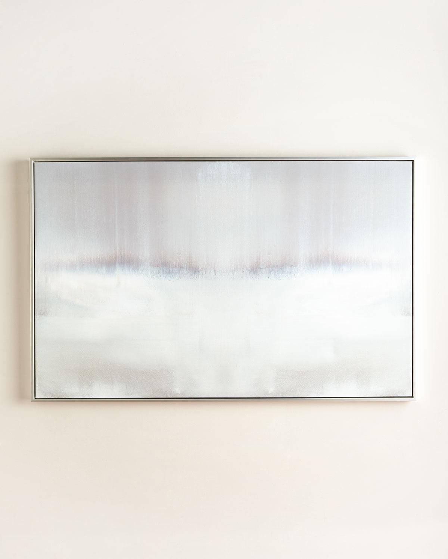 """""""Haze Reflected"""" Vertical Signed, Embellished Giclee"""