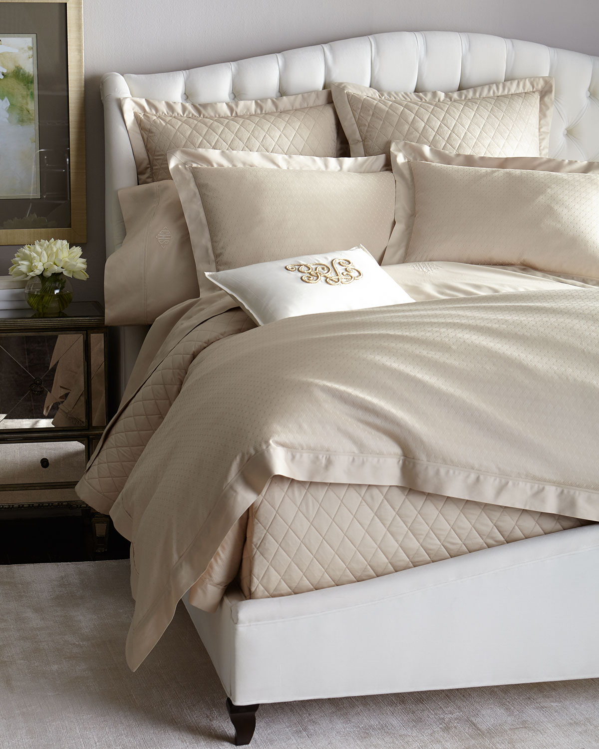 European Bedford Quilted Sham