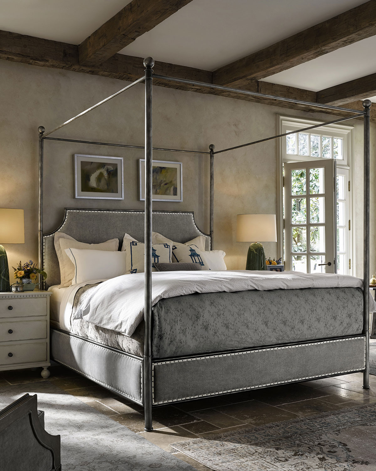 Taverna King Canopy Bed