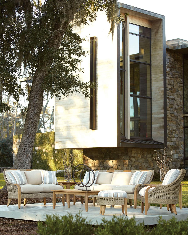 Edgewood Outdoor Ottoman