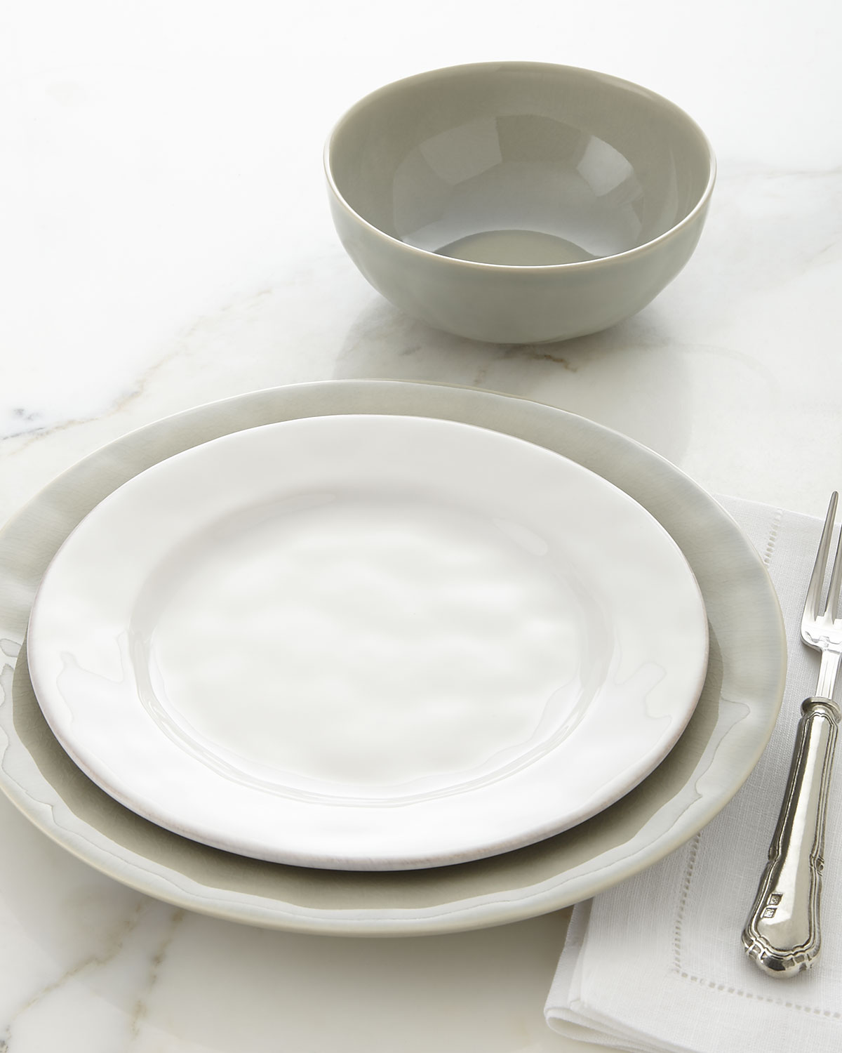 Puro Whitewash Dinner Plate : dinner plate storage containers - Pezcame.Com