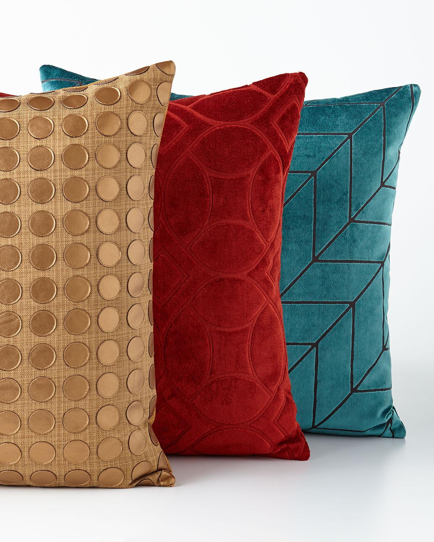 Modern Twist Orange Pillow