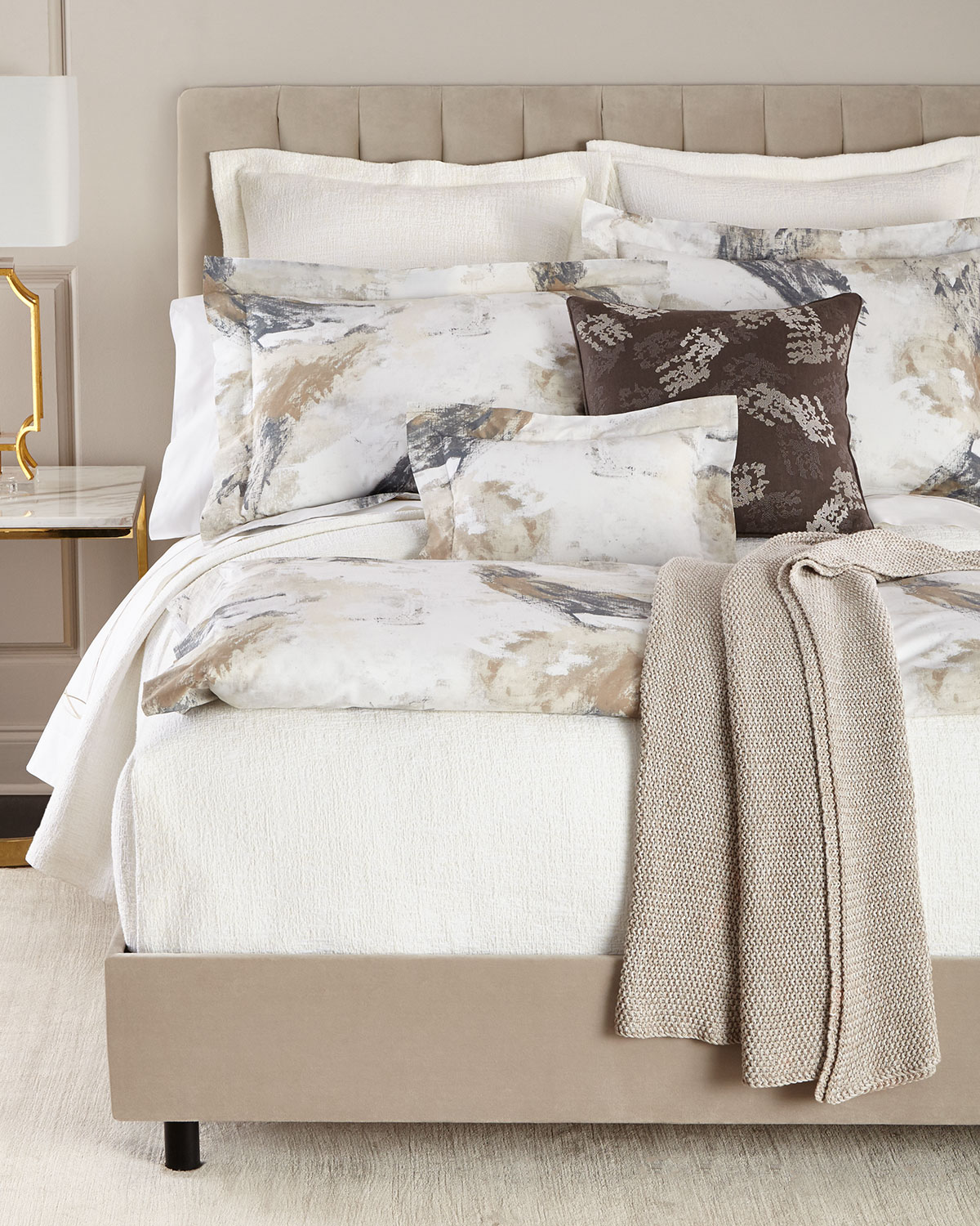Two Standard Scroll Pillowcases