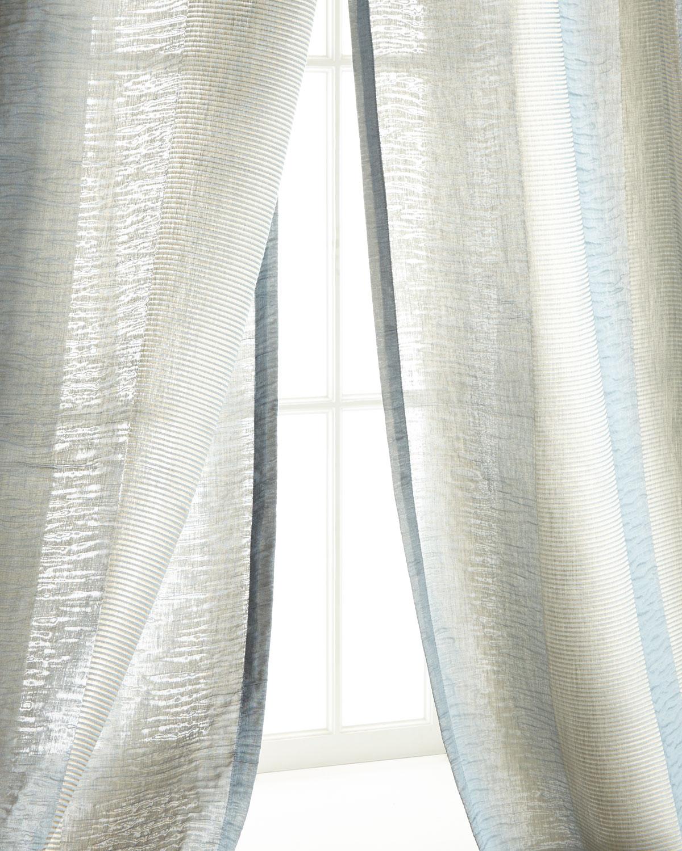 "Each 54""W x 108""L Encore Stripe Curtain"